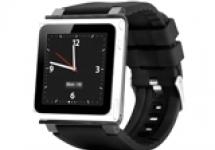 Часы шпаргалка Ipod Nano 6 (оригинал) 8GB + ремень