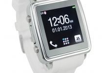 Часы шпаргалка Watch mobile android MQ799