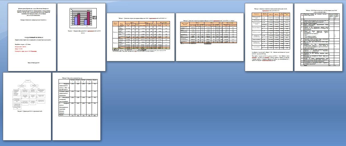 Раздаточный материал к дипломной работе Раздаточный материал  Образец раздаточного материала для дипломной работы
