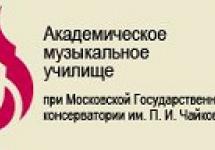 АМУ при МГК имени Чайковского